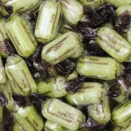 Kingsway Chocolate Limes Hard Boiled Wrapped Lime Flavour Sweets 1kg Bags Free Postage