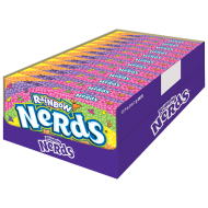 Rainbow Nerds Nestle Formerly Wonka American Candy 5oz 141g Theatre Unit Count: 12