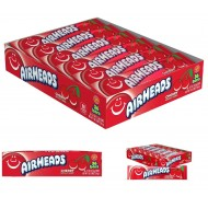 Airheads Cherry 15g Sweet American Candy Box 36 Bars