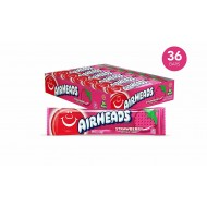 Airheads Strawberry 15g Sweet American Candy Box 36 Bars