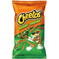 Cheetos Cheddar Jalapeno Crunchy (226g) 3 X 8oz Bags 10 Large Imported Usa