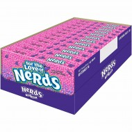 Nerds Grape Strawberry Crunchy Candy Sweets Theatre Box American Usa Imported Unit Count: 12