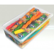 FINI JUMBO ASSORTED COLOURED CABLES 30 COUNT HALAL