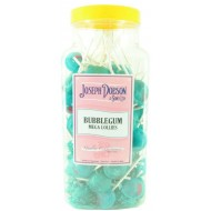 JOSEPH DOBSON LARGE Bubblegum Mega 90 Lollies JAR GIFT SWEETS KIDS PARTY
