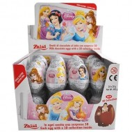 Zaini Disney PRINCESS Chocolate Girls Surprise Eggs with Toy Inside 12 EGG