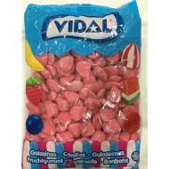Vidal FOAM STRAWBS GUMMY GLUTEN FREE 1.5KG