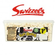 SWIZZELS-FUN-GUMS-MILK-BOTTLES-TUB OF 600  SWEETS-CANDY-BOX-BIRTHDAY-PARTY-FAVOURS
