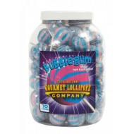 Gourmet Lollipops Company Bubblegum jar 70 pcs