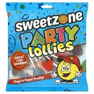 Party Lollies heart 300g 4 bags Suitable For Vegetarians approximately 140 Lolli