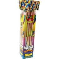 Mega Swizzels Rainbow Dust Sherbet Straws Party Bag Fillers Retro Candy 60 box