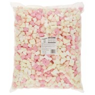 Sweetzone 100% HALAL Marshmallows Mini Heart 1KG SWEETS WEDDING FAVOURS PARTY