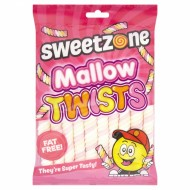 Sweetzone Halal Mallow Twists Marshmallows 190g 12 Pack