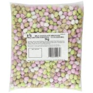 MILK CHOCOLATE MINI EGGS ASSORTED COLOURS SWEETS WEDDING PARTY FAVOURS EASTER 3kg