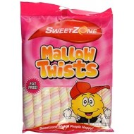 Sweet Zone Mallows Twists 190G  6 Pack
