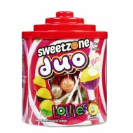 Sweetzone Duo Lollies Halal Hmc 72 In Each Tub