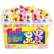 Trolli Big Bear Gummi Candy 150 TUB (1200g)