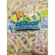 Candy Necklaces Fruit Flavour Bag Retro Sweets 60 Count Dexters