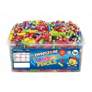 Sweetzone Halal Mini Assorted Pencils Mix 600 Pieces Hmc