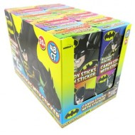 Batman Candy Sticks  16g with stickers 4 stickers inside each pack 48 packs Halal