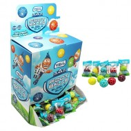 Vidal Footballs Bubble Gum 200 Pieces