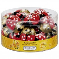 Milk Chocolate Foiled Novelty Ladybugs Christmas  Full box 30 x 12.5g