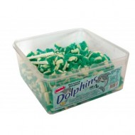 Alma Blue & White Dolphins FRUIT FLAVOUR JELLY SWEETS HALAL TUB 600 PCS