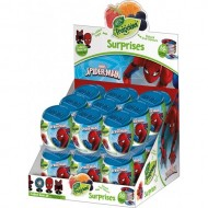 Marvel Spiderman Surprise Fruitickles Capsules Box of 18)