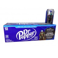 Dr Pepper Dark Berry Soda, American 12 Fl Oz Cans, 12 Pack Special-edition