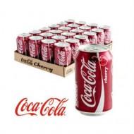Coca Cola Cherry 330ml 24 X Cans