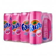 Fanta Laici Lychee Drink Can 12 X 320ml