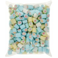SWEET ZONE CIRCLE MALLOWS BULK HALAL 1KG