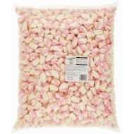 SWEETZONE 100% HALAL MINI TWIST MARSHMALLOWS 1KG SWEETS WEDDING FAVOURS PARTY