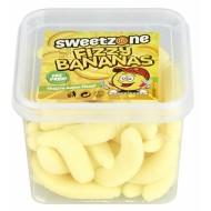 Sweeetzone Fizzy Bananas Hmc Halal 180g Tub X 12