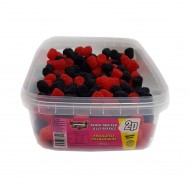 Heavenly Delights Red & Black Jelly Berries Tub Of 300 Pcs *Halal Hmc Certified