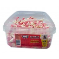 Heavenly Delights Strawberry Milkshakes Tub Of 600 Pcs *Halal Hmc Certified