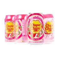 Chupa Chups Sparkling Strawberry & Cream 345ml Unit Count: 24