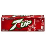 7 Up Cherry American Soda In 12 Oz Cans (12 Cans) By 7up