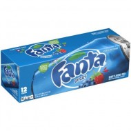 Fanta Berry Cans 355ml (Pack Of 12) American Import Usa Soda