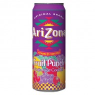 Arizona Fruit Punch 23 Fl Oz (695ml) - 6 Cans