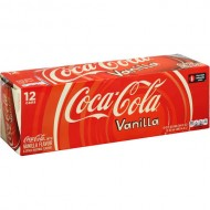 Coca Cola Vanilla Flavoured Usa Drink 355 Ml (Pack Of 12)