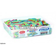 Vidal FIZZY rainbow belts TUBS 600 RETRO SWEETS PARTY